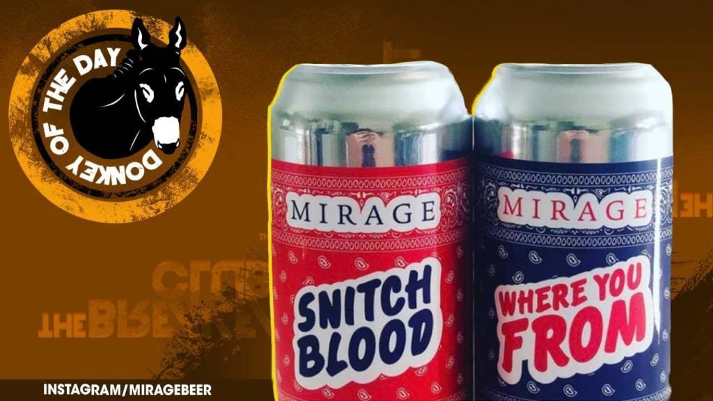 Mirage Beer Awarded Donkey Of The Day After Cancelling Release Of Crips & Bloods-Themed Beers