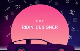 """Stream EDF's """"Ridin Designer"""" Project"""