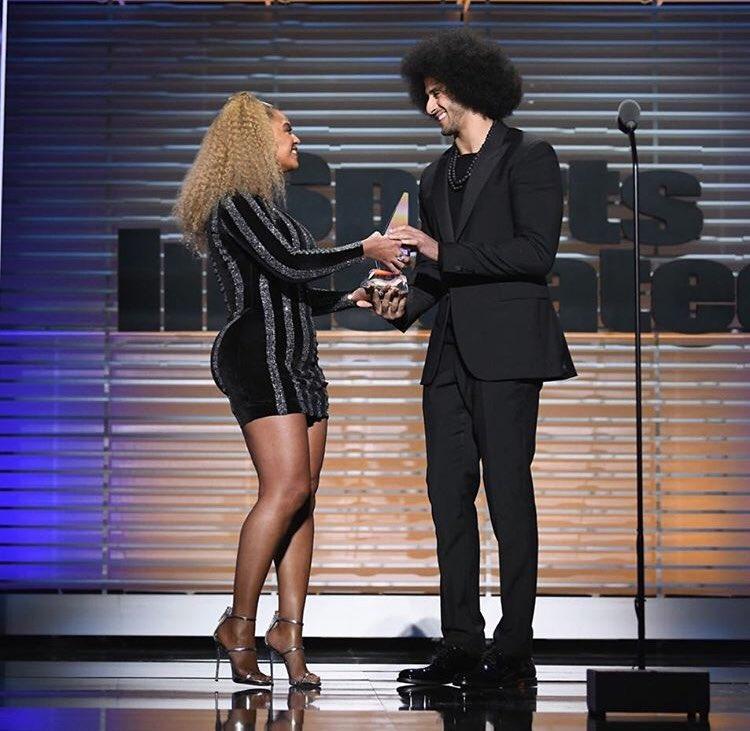 Beyoncé Honors Colin Kaepernick w/Muhammad Ali Legacy Award & Racists Lose It