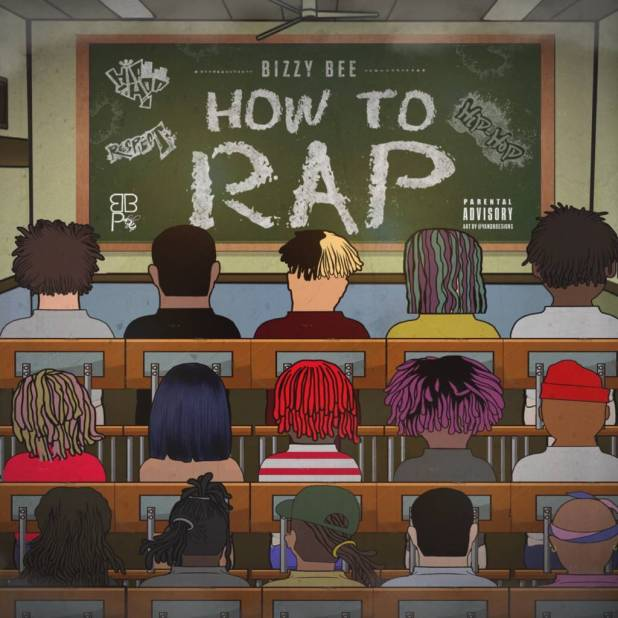 Bizzy Bee (@BizzyBeeBBP) Teaches You 'How To Rap' In His New Video