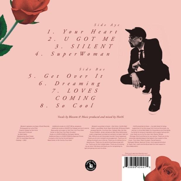 Stream Blossom (@ThatsBlawesome) & @H0T16's Collabo Album 'Tease'