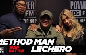 Method Man Sons Opponent In Rap Battle + Speaks On 'C.R.E.A.M.' w/The Cruz Show (@JCruz106)