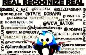 Real Recognize Real: The Twitter Mixtape Front Cover
