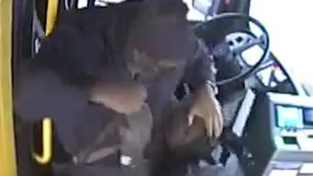 Bus Passenger Catches Beatdown After Hitting Driver w/Cane