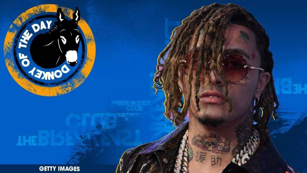 Lil Pump Awarded Donkey Of The Day For Getting Arrested In Denmark For Taunting Cops