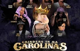 CarolinaOnTheRise.com & Grinders Up Next present Grinders In Da Carolinas, Volume 21 [Mixtape Artwork]