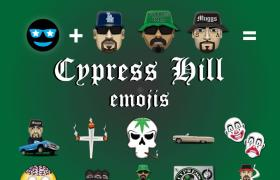 Cypress Hill Emojis, courtesy of Emoji Fame [1st Product Artwork]