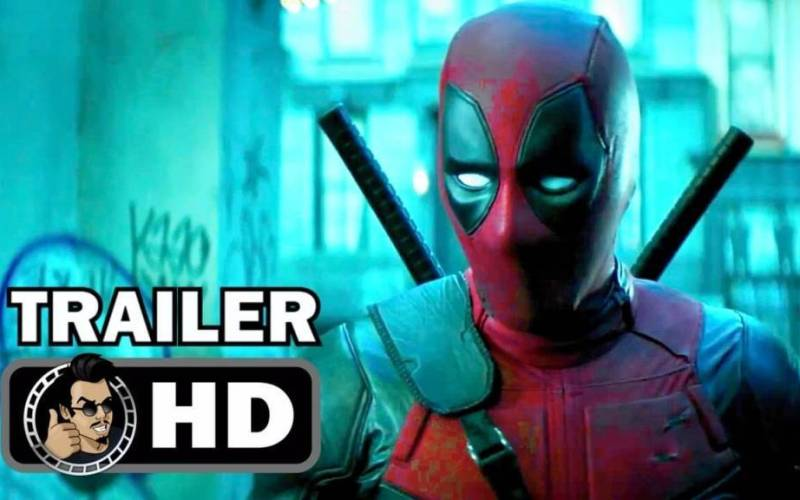 1st Theatrical Trailer For 'Deadpool 2' Movie
