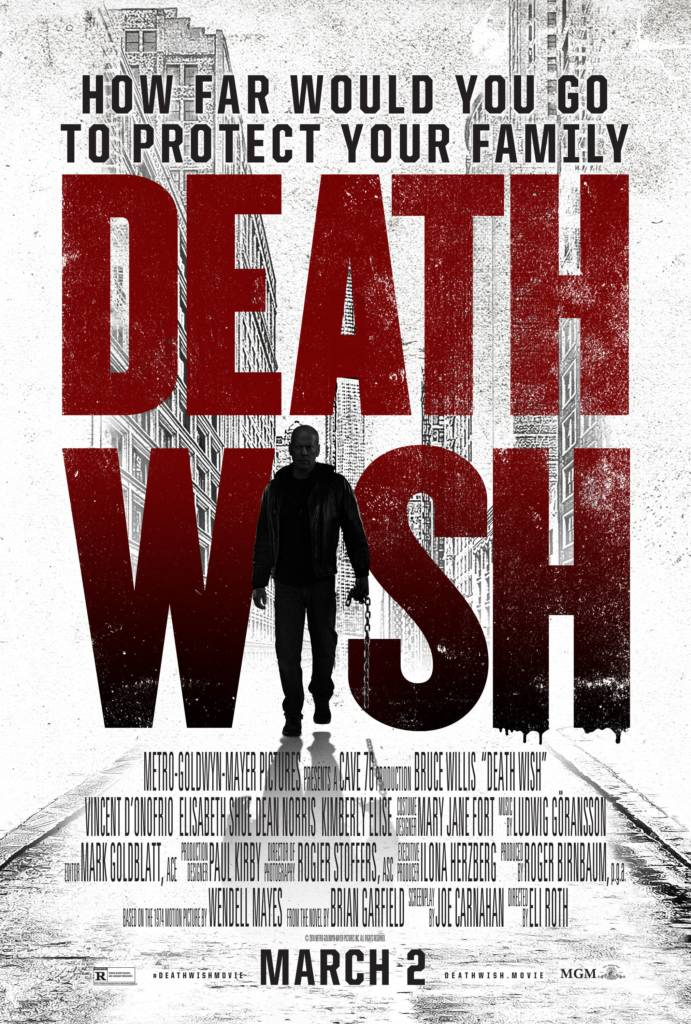 Red Band Trailer For The Remake Of 'Death Wish' Starring Bruce Willis & Mike Epps