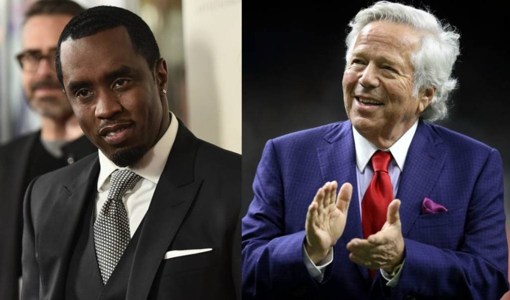 New England Patriots Owner Robert Kraft Wants Puff Daddy To Buy An NFL Team