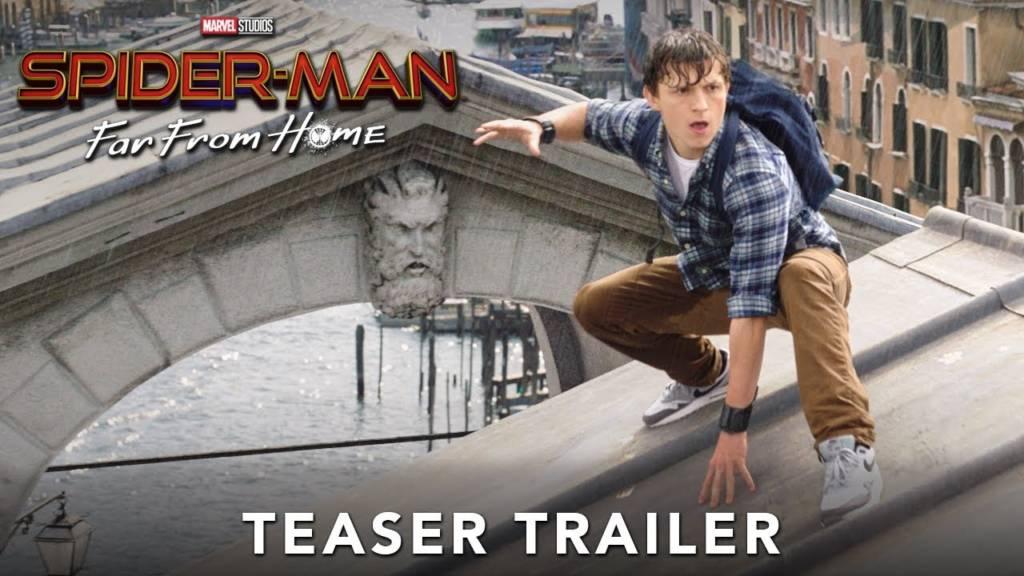 1st Trailer For 'Spider-Man: Far From Home' Movie Starring Samuel L. Jackson & Zendaya