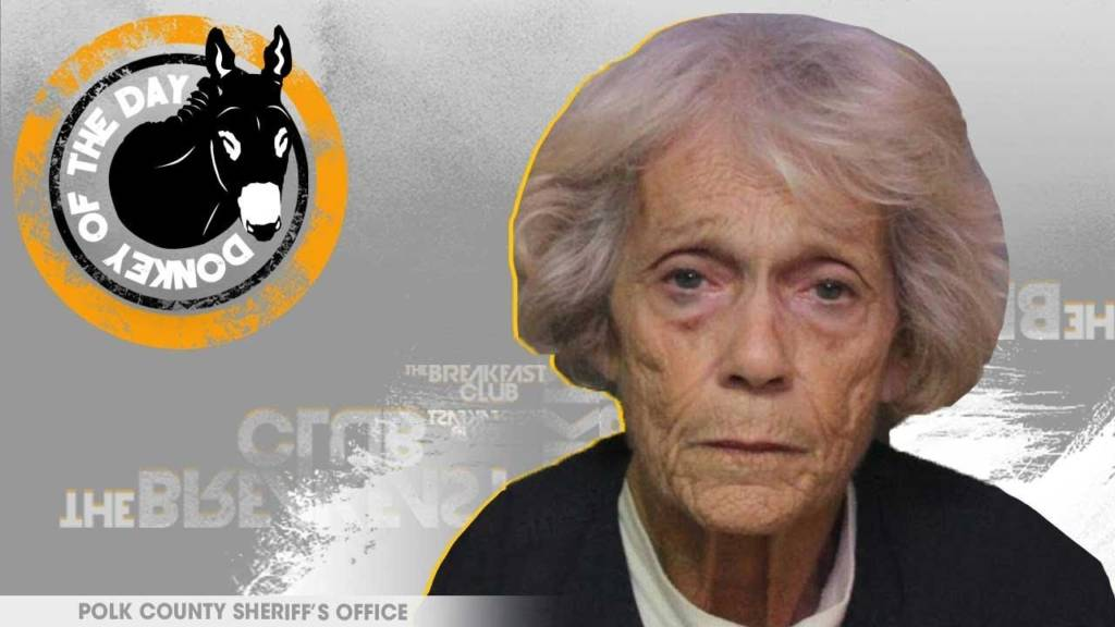 Barbara Lee Ray Awarded Donkey Of The Day For Taking Her Meth To Doctor To See If It Was Safe To Smoke