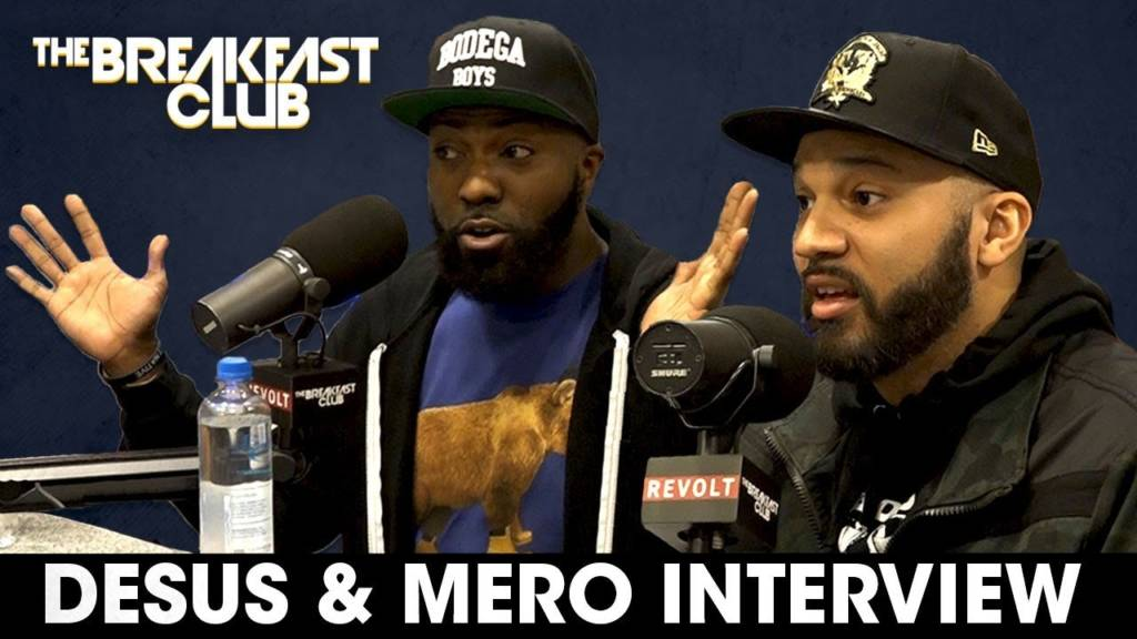 DJ Envy Has On-Air Meltdown In Breakfast Club Interview w/Desus & Mero (@DesusNice @TheKidMero @DesusAndMero @BodegaBoys)