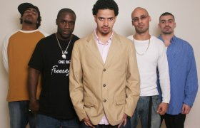 From left to right: Jise-One, Freestyle, D-Stroy, Swel Boogie, & Q-Unique