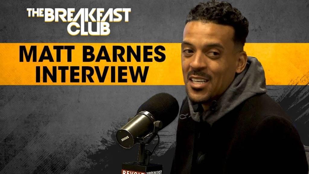 Matt Barnes On The 420 RoundTable & His Career In The NBA w/The Breakfast Club (@Matt_Barnes22)