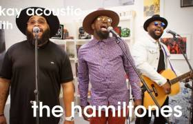 Watch The Hamiltones' Okayplayer Acoustic Performance