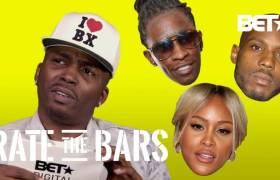 Drag-On On BET's 'Rate The Bars'