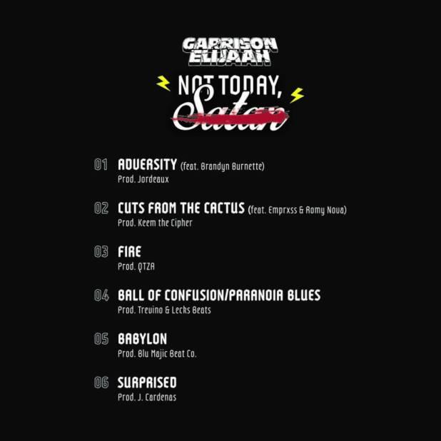 Stream Garrison Elijaah's 'Not Today, Satan' EP (@GarrisonElijaah)