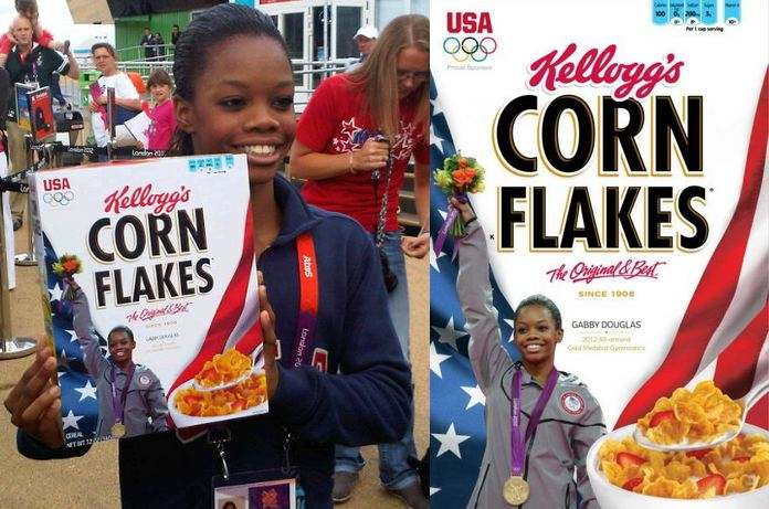 Gabby Douglas (@GabrielleDoug) Inks $100 Million Deal With Kellogg's