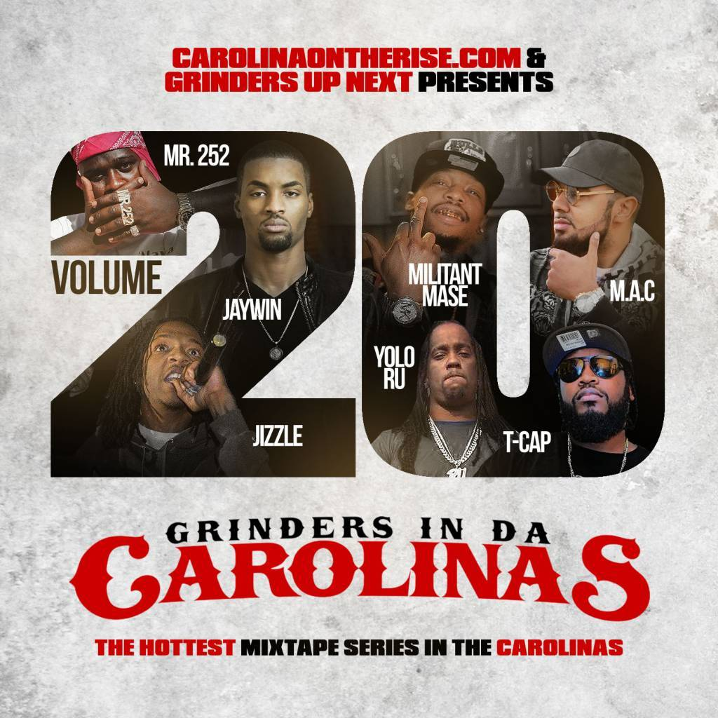Stream The New Mixtape 'Grinders In Da Carolinas Vol. 20' (@NCToSCConnect @GrindersUpNext)