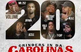 Grinders In Da Carolinas, Volume 20 [Mixtape Artwork]