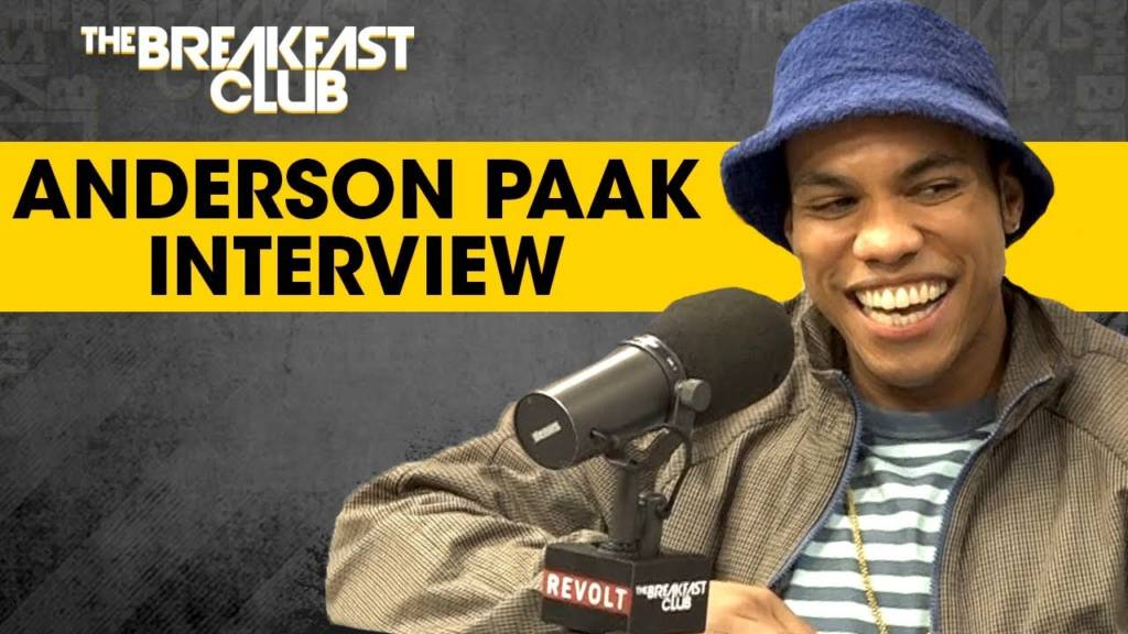 Anderson Paak Talks Oxnard, Fatherhood, Being Saved By The Church, & More w/The Breakfast Club