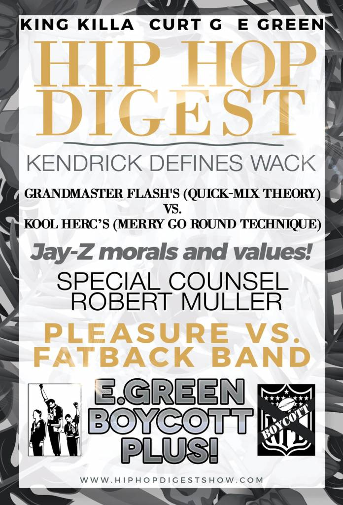 Listen To The @HipHopDigest Show Have 'The Great Debate'...