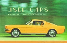 Stream Homage CVG & Waldo From Cincinnati's 'Used Cars' Beat Tape (@HomageCVG @WaldoFromCin @FortAncientRec)
