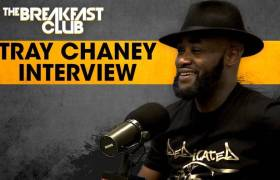 Tray Chaney Speaks On His Role On 'Saints And Sinners', 'The Wire', His New Music, & More w/The Breakfast Club (@TrayChaney)
