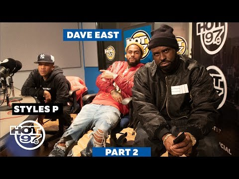 Styles P & Dave East Kick Freestyles On Hot 97 w/Funkmaster Flex [Part 2]