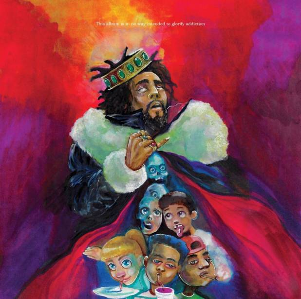 Peep The Artwork & Tracklisting For J. Cole's Upcoming Album 'KOD'