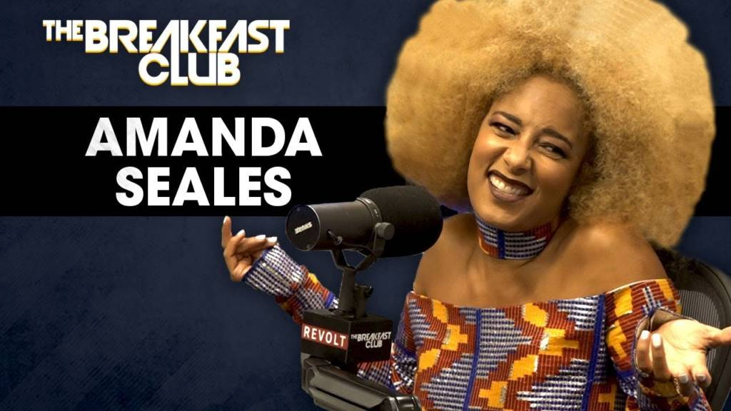 @AmandaSeales On Male Insecurities, Russell Simmons, Colorism, & More w/The Breakfast Club