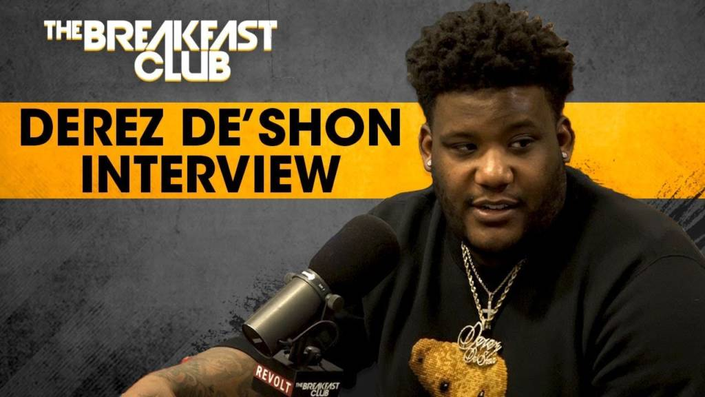 Derez De'Shon Recalls Being In The Room During Birdman's Interview + Talks New Music & More w/The Breakfast Club (@DerezDeShon)