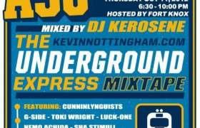 The Underground Express A3C Mixtape by KevinNottingham.com