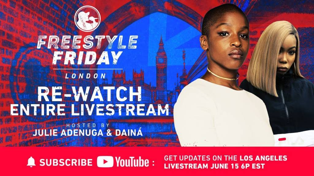 BET's 'Freestyle Friday' Goes To London (#FreestyleFridayBET)