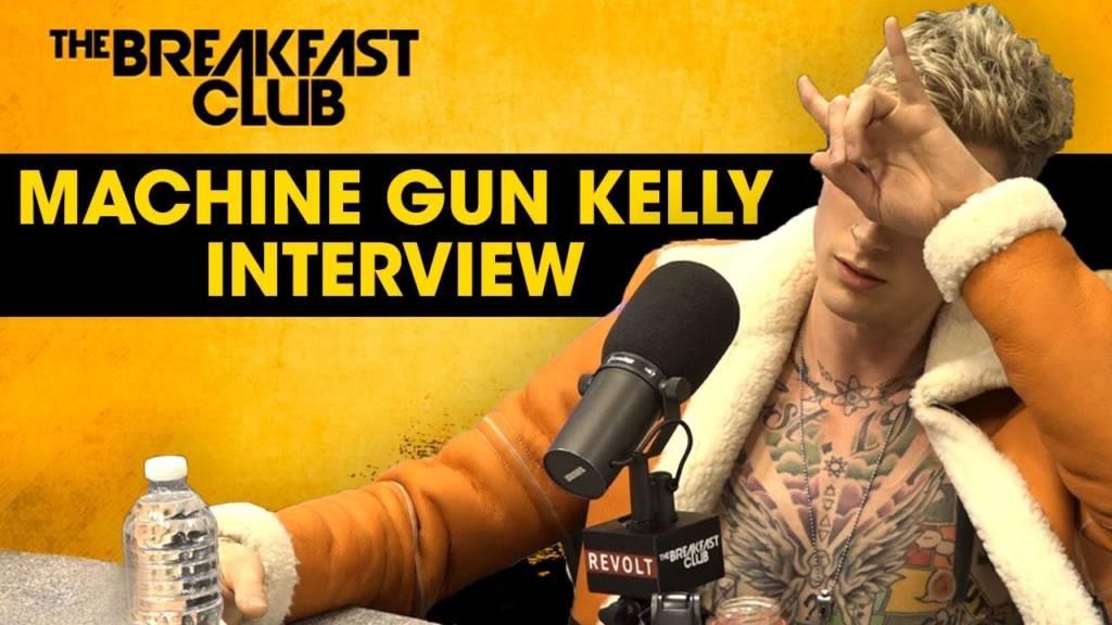 Machine Gun Kelly Breaks Down Eminem Feud, Halsey Rumors, Mac Miller's Death, 'Binge' EP, & More w/The Breakfast Club (@MachineGunKelly)
