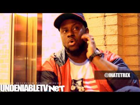 @UndeniableTV (@DashLiving) Interview: T-Rex (@IHateTRex)