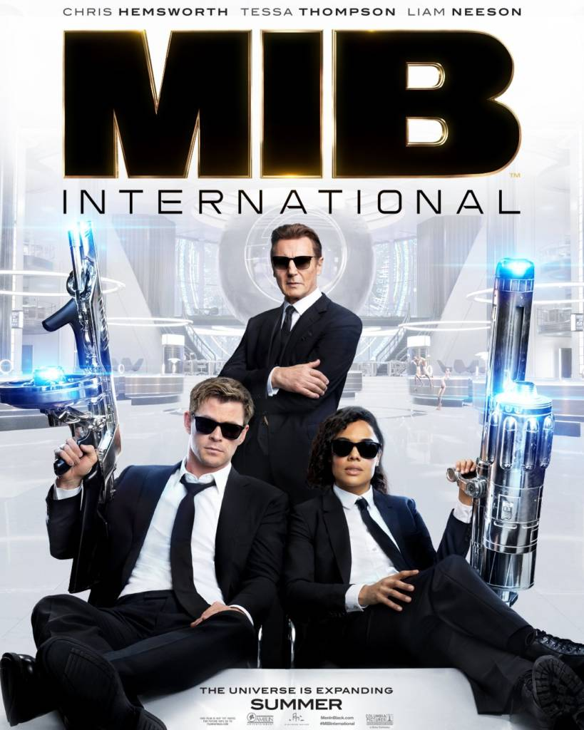 2nd Trailer For 'Men In Black: International' Movie Starring Chris Hemsworth & Tessa Thompson
