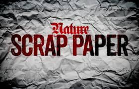 Nature - Scrap Paper [EP Artwork]