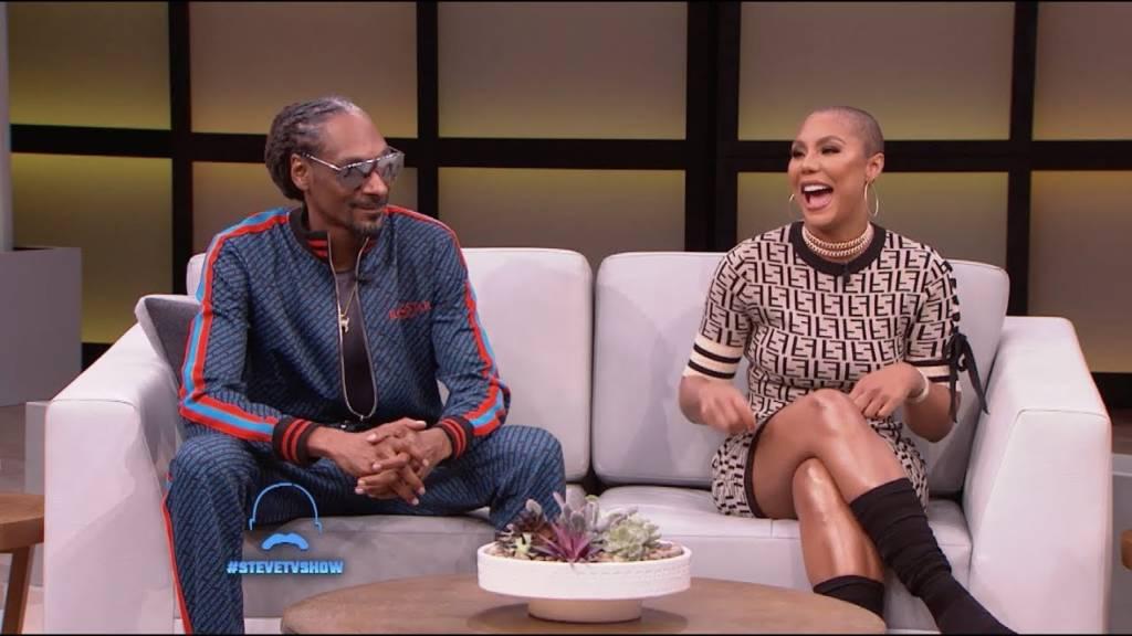 Snoop Dogg & Tamar Braxton Play 'Who Is It?' On 'Steve' (#SteveTVShow)