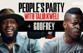 Godfrey On 'People's Party With Talib Kweli'