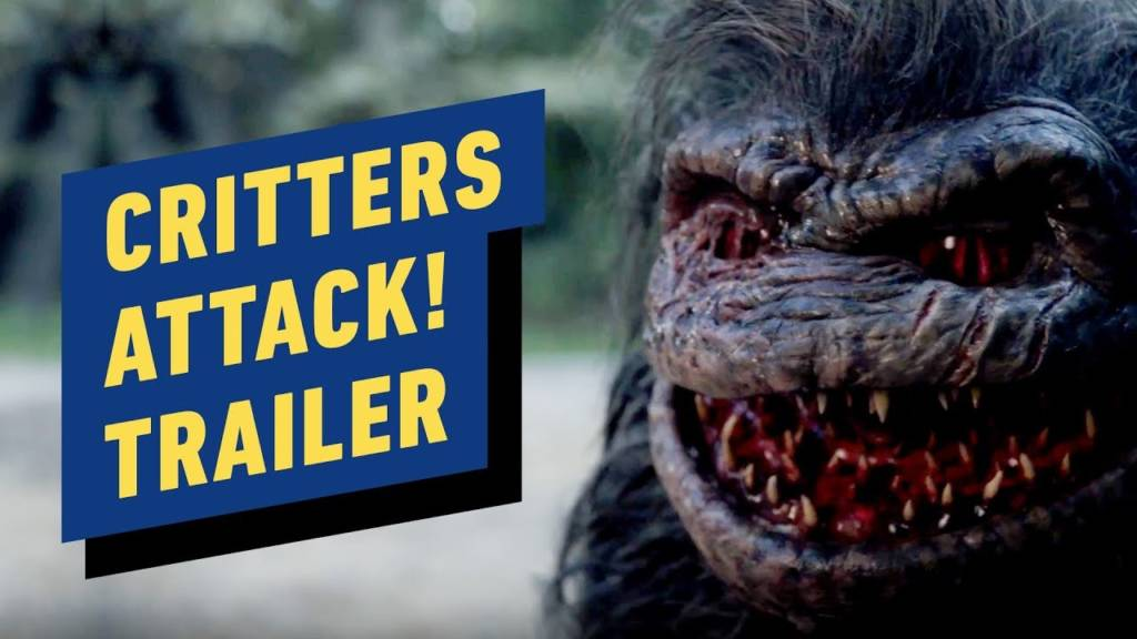 1st Trailer For 'Critters Attack!' Movie