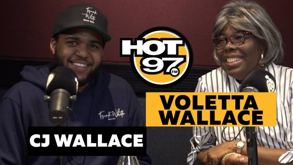 Ms. Voletta Wallace & CJ Wallace Speak On Notorious B.I.G.'s Legacy & Christopher Wallace Way In Brooklyn w/Ebro In The Morning