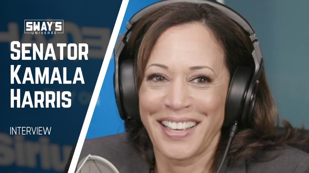 Kamala Harris On SiriusXM's Sway In The Morning