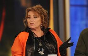 Roseanne Barr on The View back in March 27, 2018 [Press Photo]
