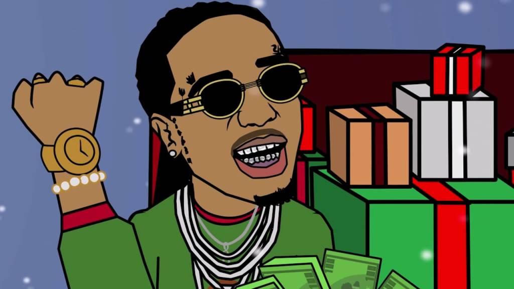 Video: FILNOBEP feat. Travis Scott & Quavo - Santa Be Trappin [Cartoon Parody]