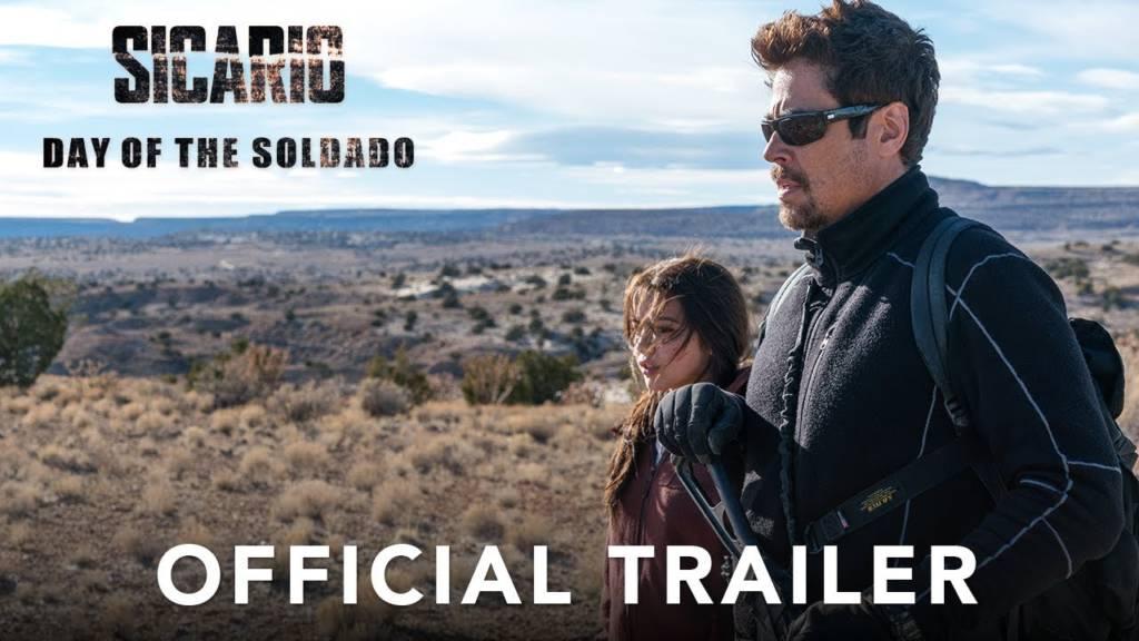 2nd Trailer For 'Sicario 2: Day Of The Soldado' Movie (#SicarioMovie)