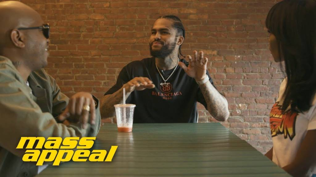 Dave East Stops By Juices For Life w/Styles P. & Adjua Styles On Mass Appeal's 'Juice Appeal'
