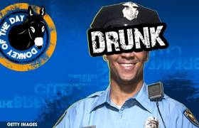 Drunk Detroit Cop Awarded Donkey Of The Day