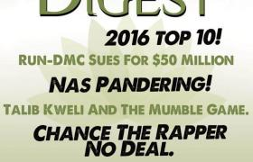 The @HipHopDigest Show Give Their 'Top 10 Albums Of 2016'